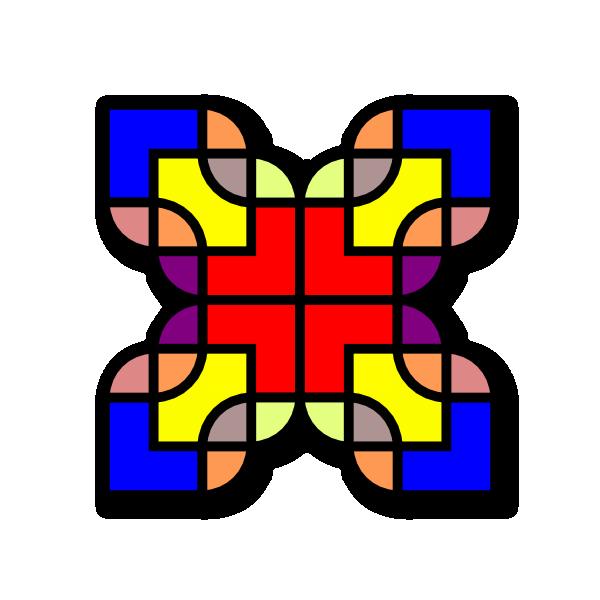 Shapes clipart name. Pattern design clip art