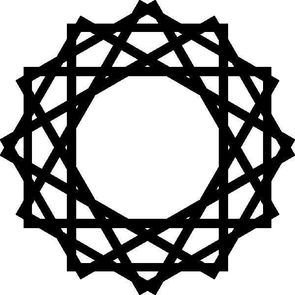 Lake clipart vector. Islamic art clip at