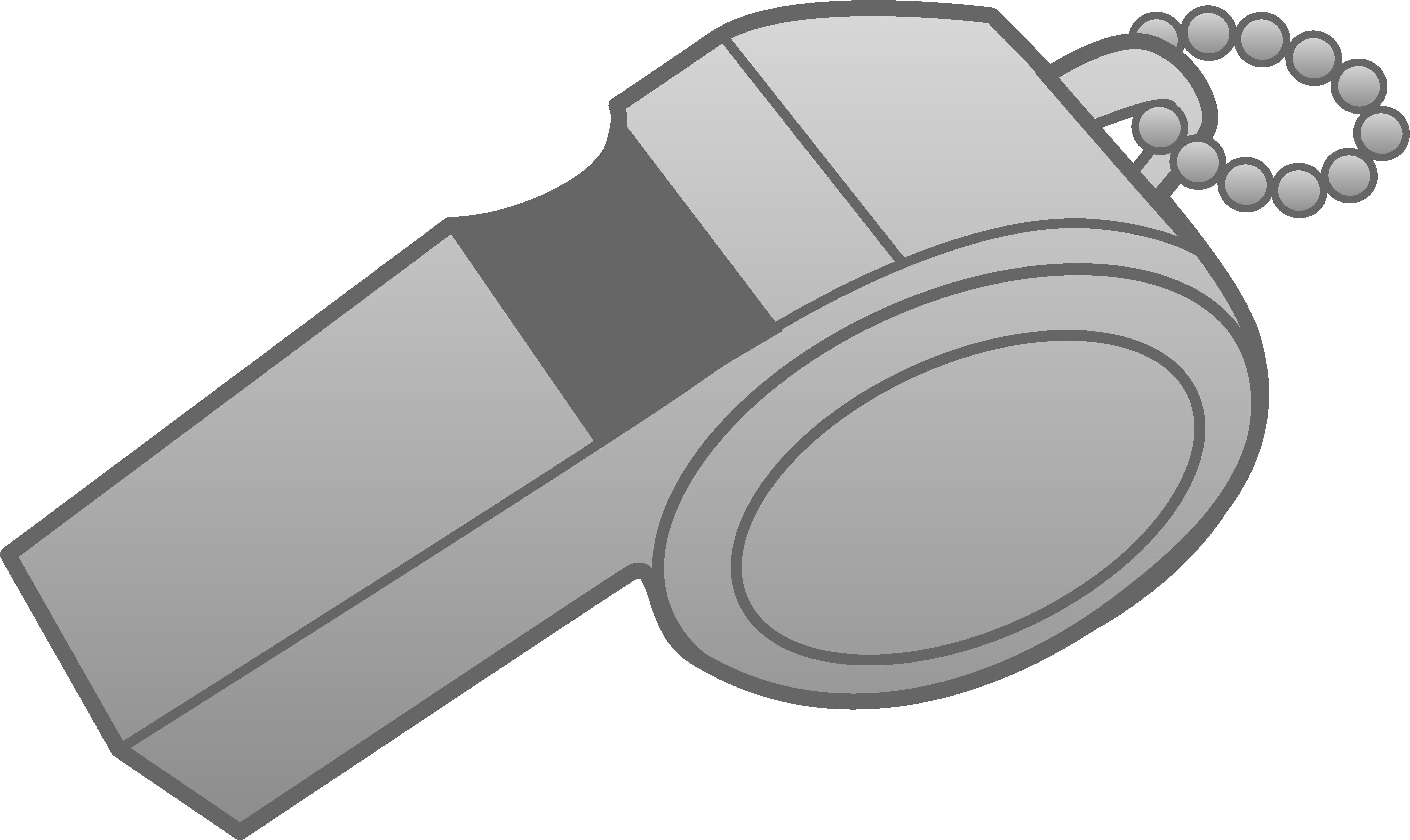 Clipart design silver. Whistle free clip art