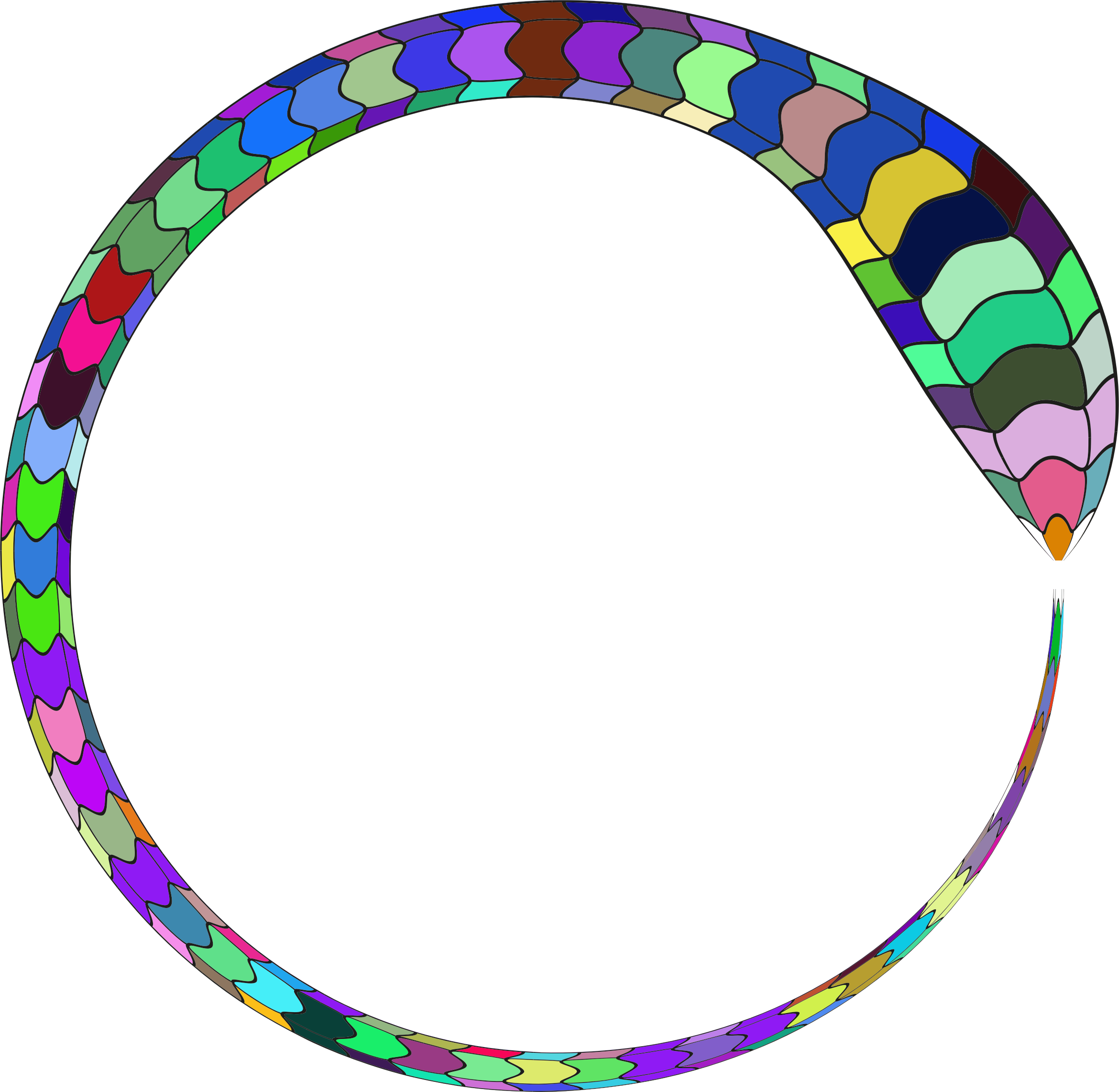 Snake clipart frame. Prismatic icons png free