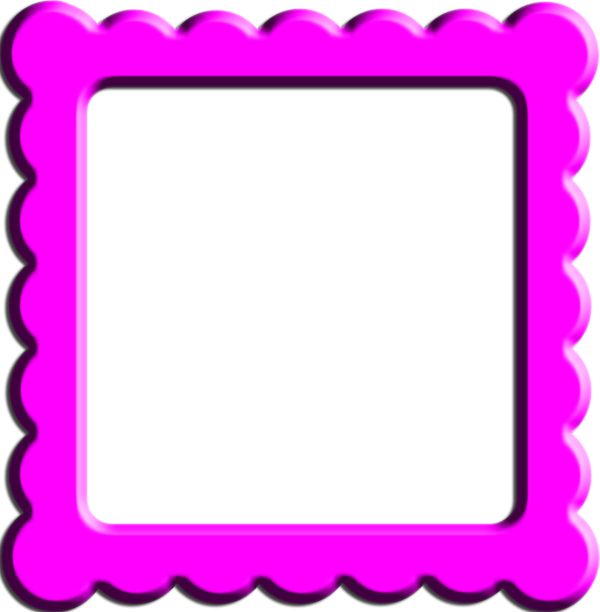 Square clipart solid. Pink frame gallery yopriceville