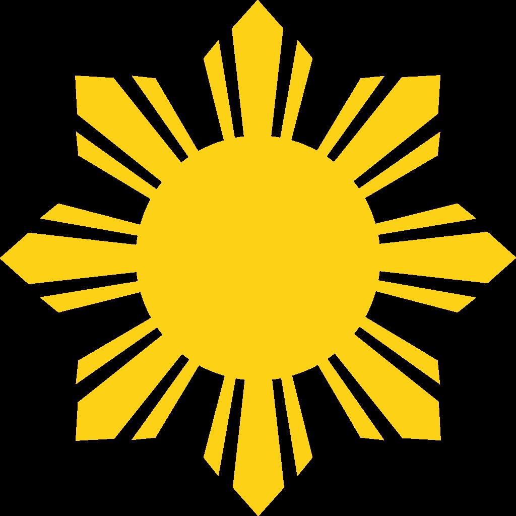 Clipart sun minimalist. Design original file svg