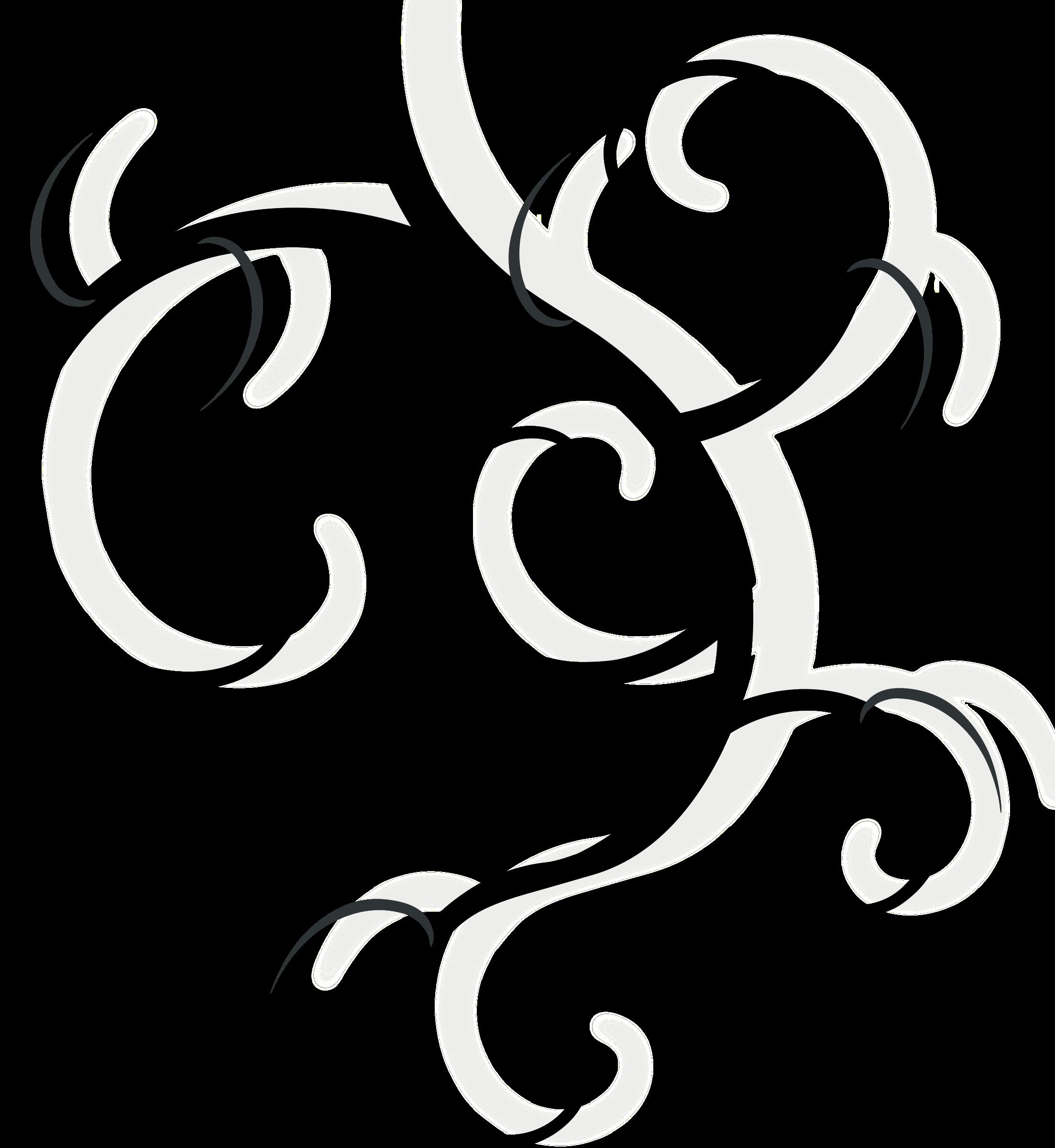 Vines clipart swirl. Design element big image