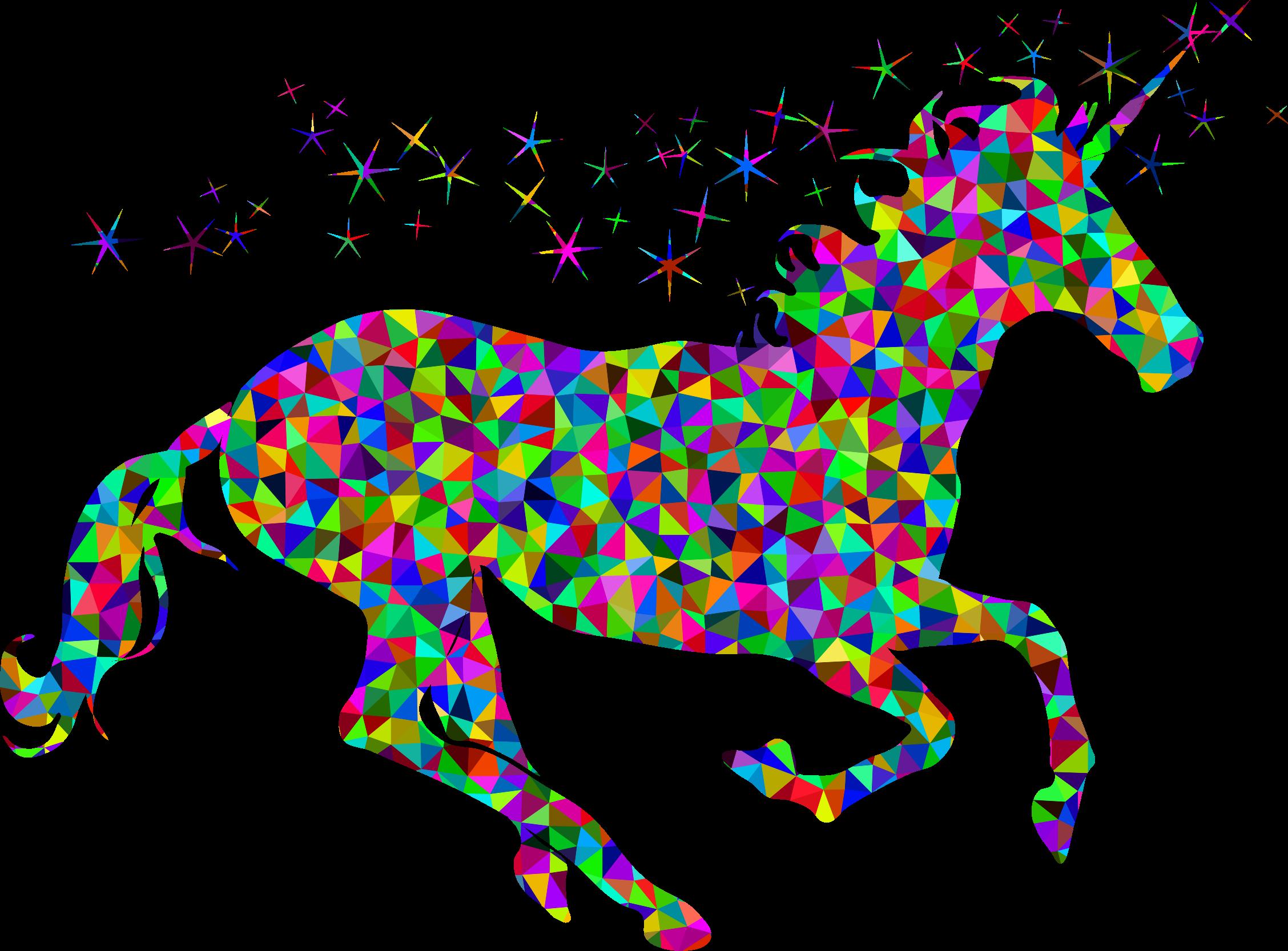 Prismatic low poly magical. Hi clipart transparent background