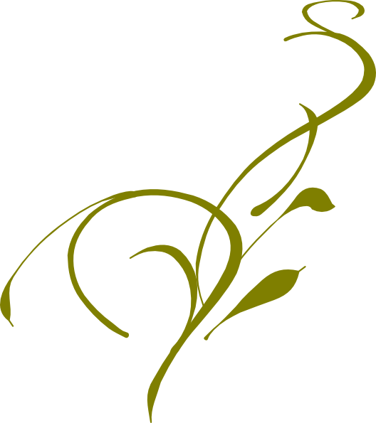 Olive clipart vector. Green vine clip art
