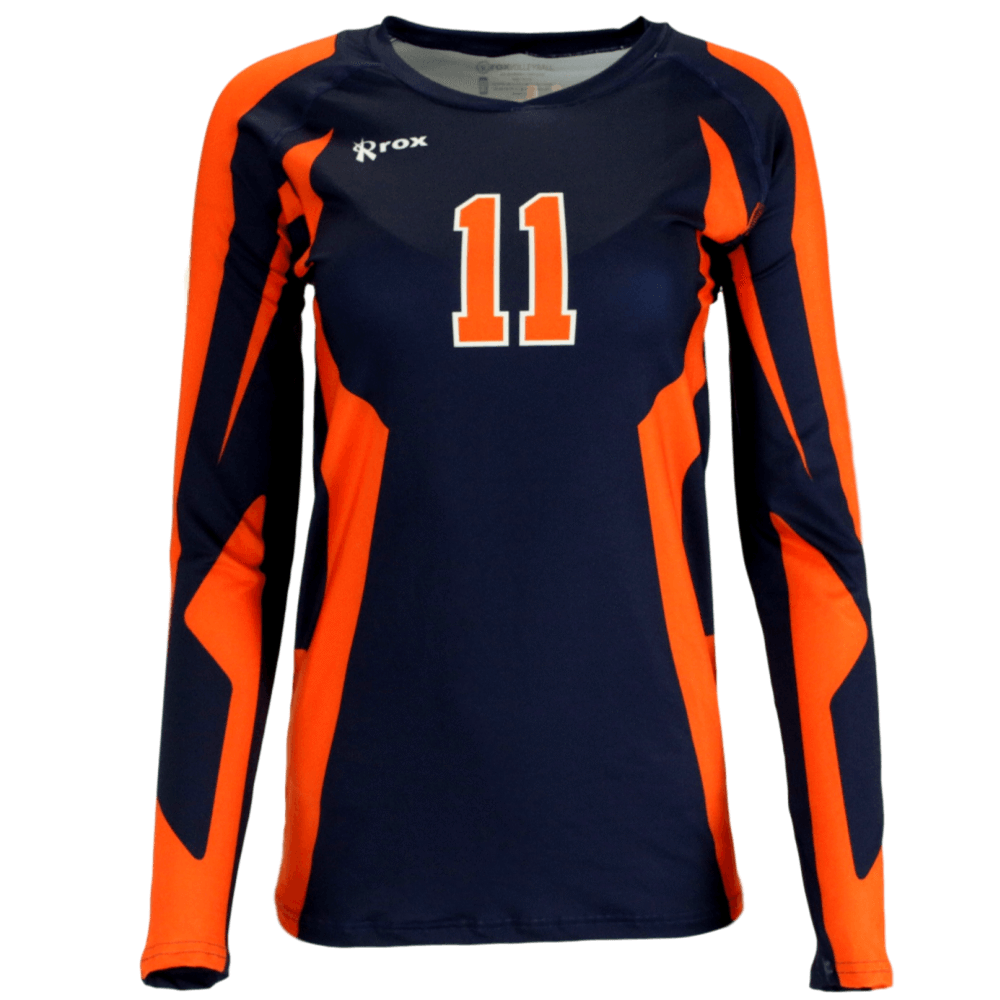 Absolute custom sublimated jersey. Design clipart volleyball