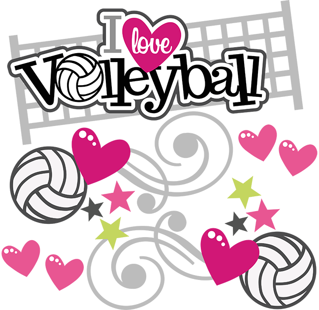 Heartbeat clipart volleyball. I love svg scrapbooking
