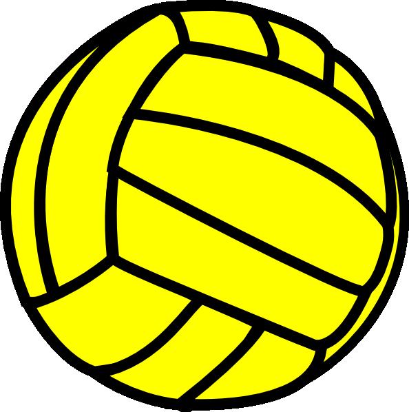 Gold clipart volleyball. Clip art at clker