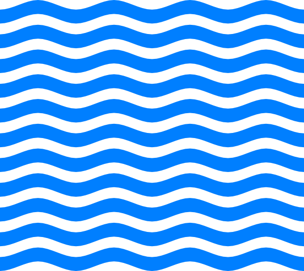 waves clipart blue wave