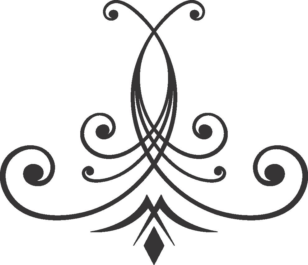 Program graphic designs design. Clipart wedding ornament
