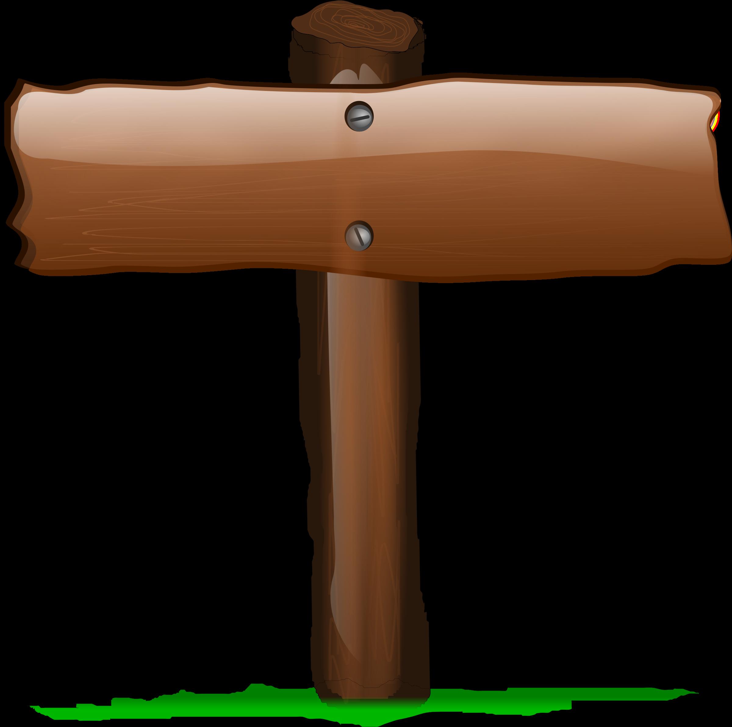 Sign big image png. Design clipart wood