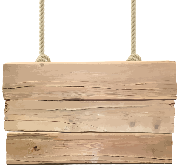 Wooden signboard transparent png. Log clipart lumber