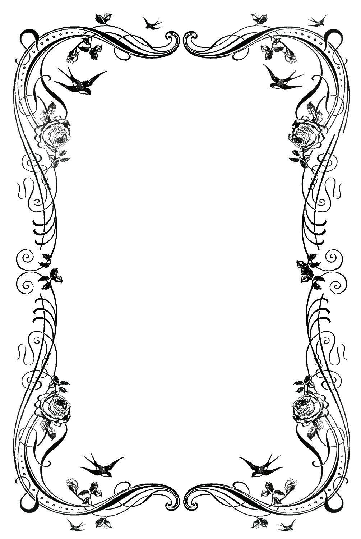 decorative designs images. April clipart border design