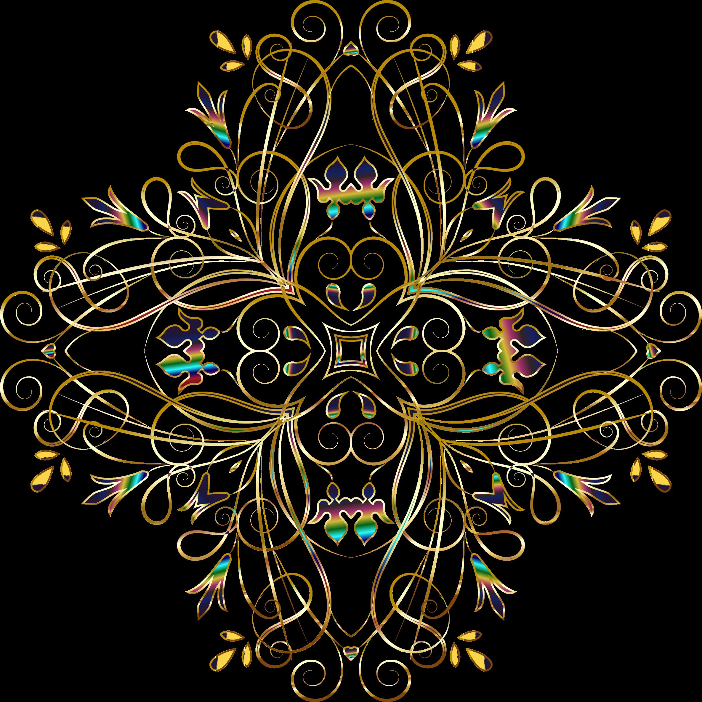 Design clipart background. Flourishy floral variation no