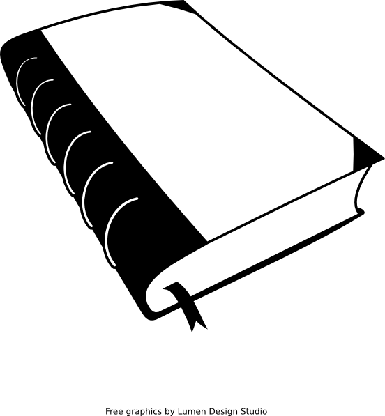 Closed book clip art. Textbook clipart big