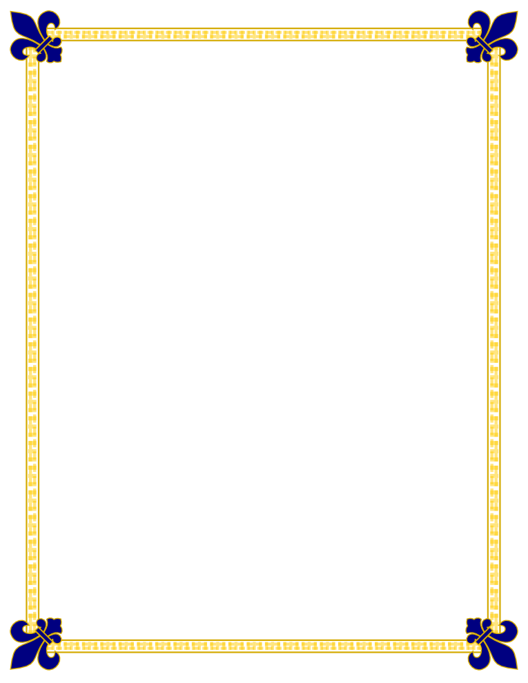 Clipart rocket border. Image of certificate gold