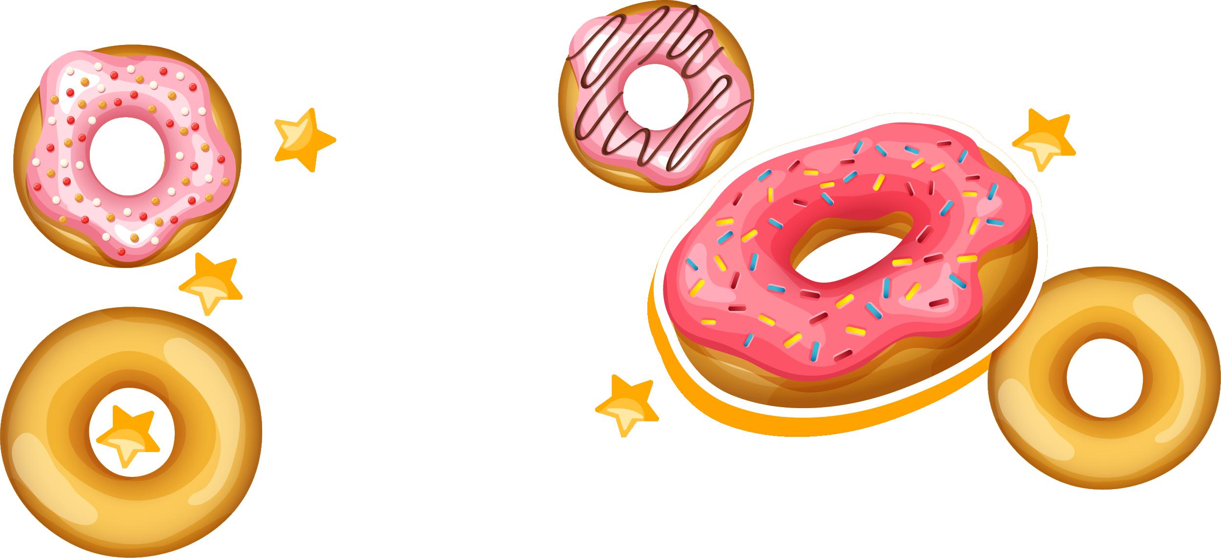Snack cookie clip art. Doughnut clipart bagel