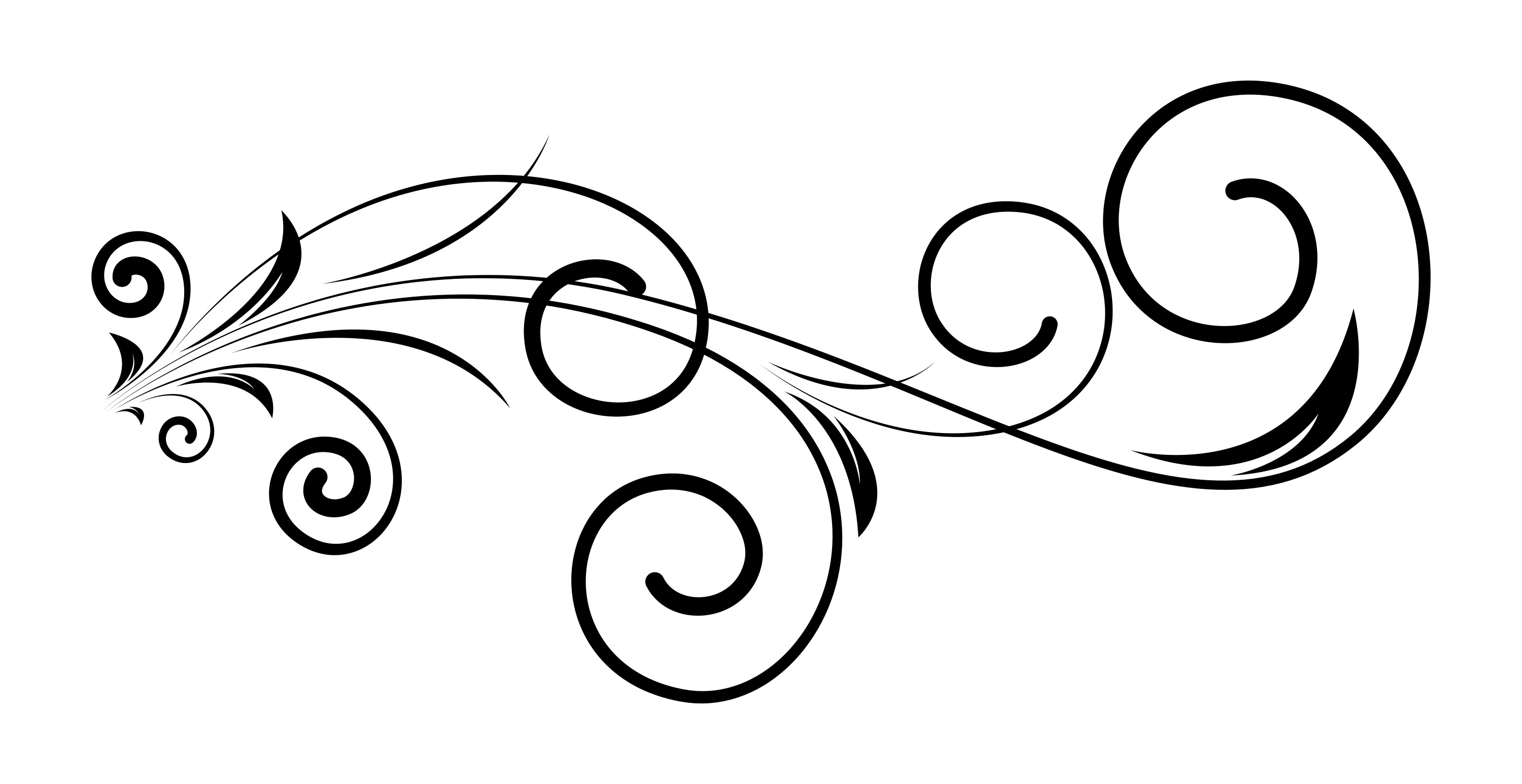 Red And Black Swirl Design Clipart - Full Size Clipart (#7068) - PinClipart