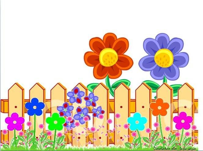 Fence clipart garden fence. Red blue fences collections
