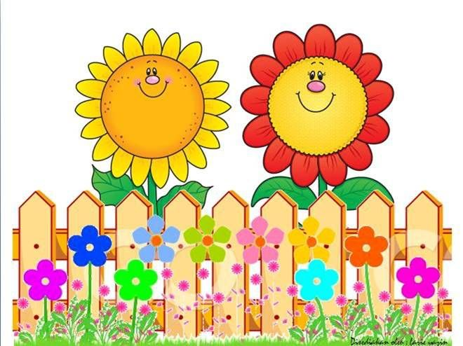 Fence clipart sunflower. Fences collections art drawings