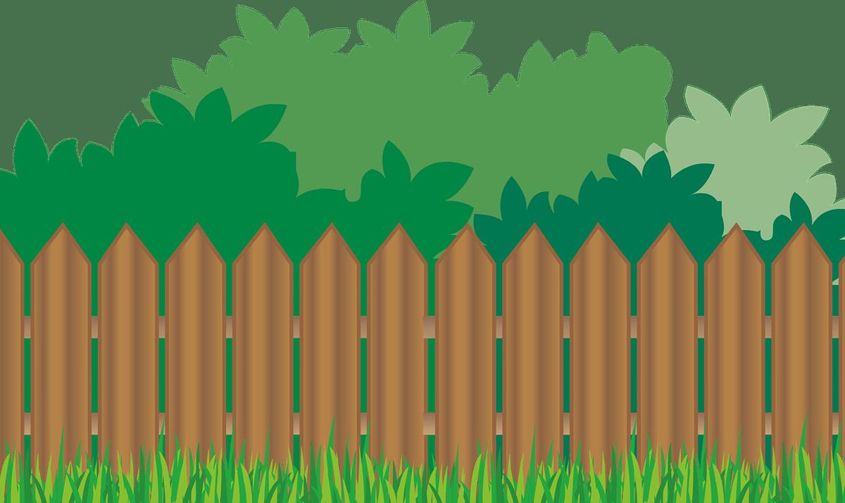 Pencils clipart fence. Horizontal wood clip art