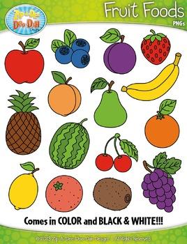 Foods zip a dee. Fruit clipart food
