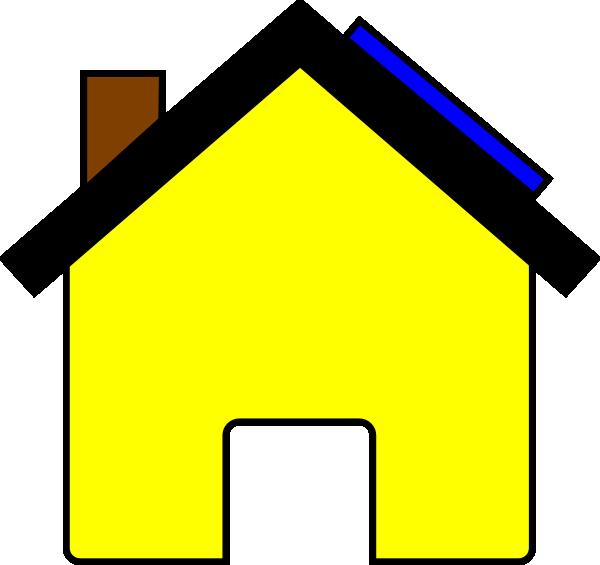 Solar . Clipart house garage