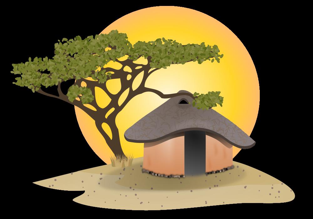 Lake clipart cottage. Onlinelabels clip art african