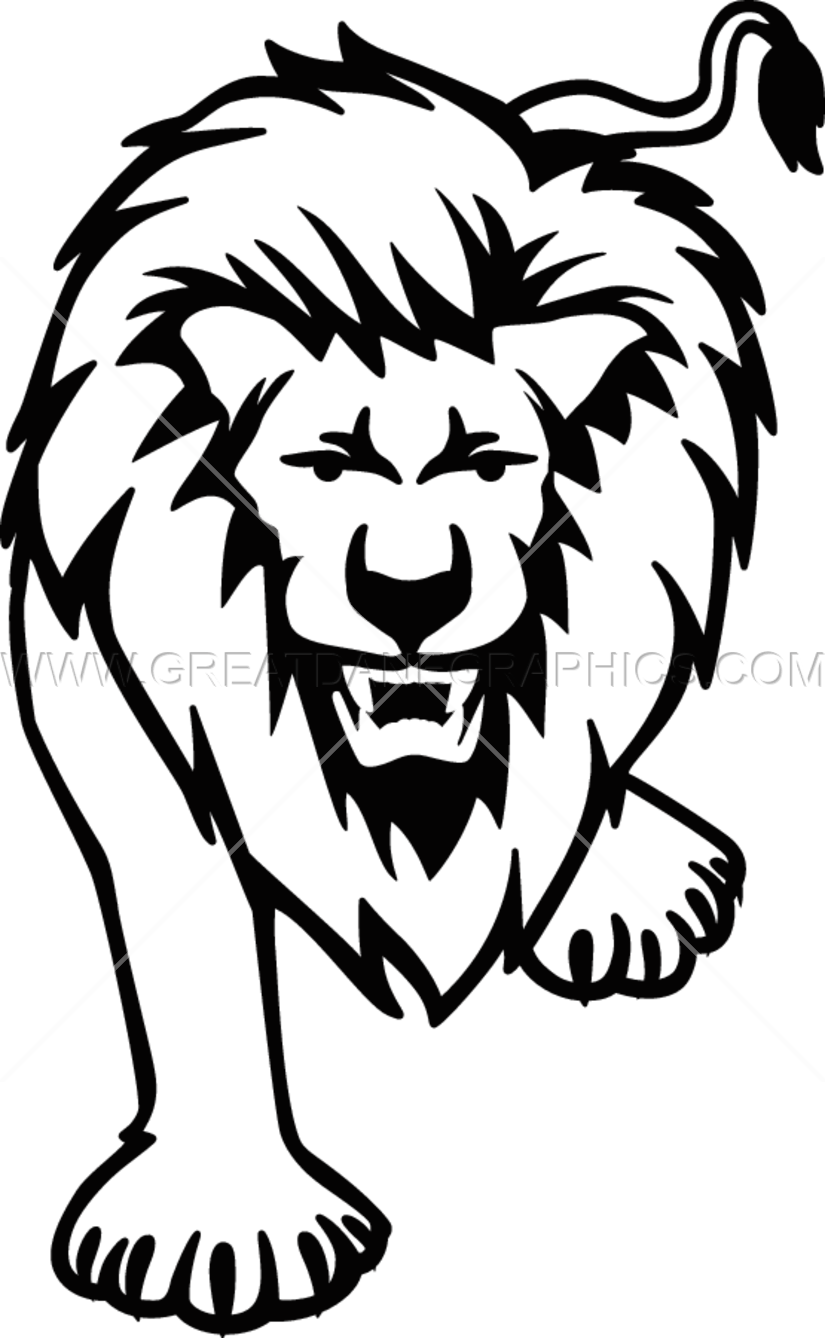 Lions clipart black and white, Lions black and white Transparent FREE for  download on WebStockReview 2020