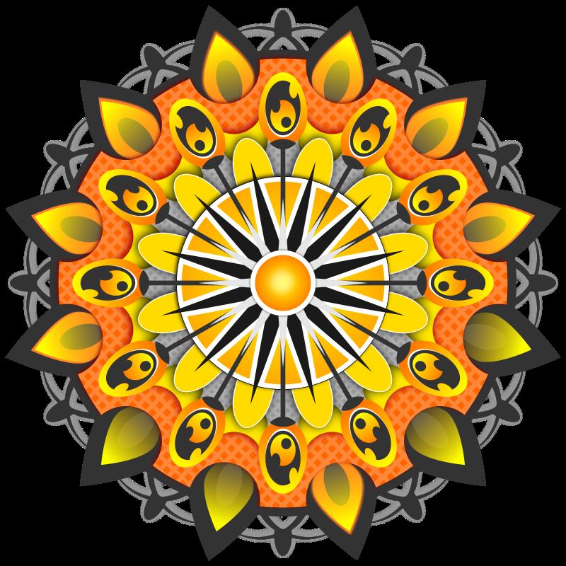 Mandala clipart stock. Free mandalas clip art
