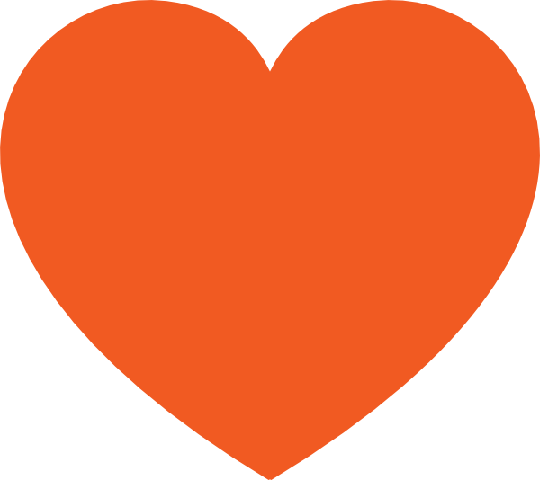 Free pictures hearts orange. Heartbeat clipart vital sign