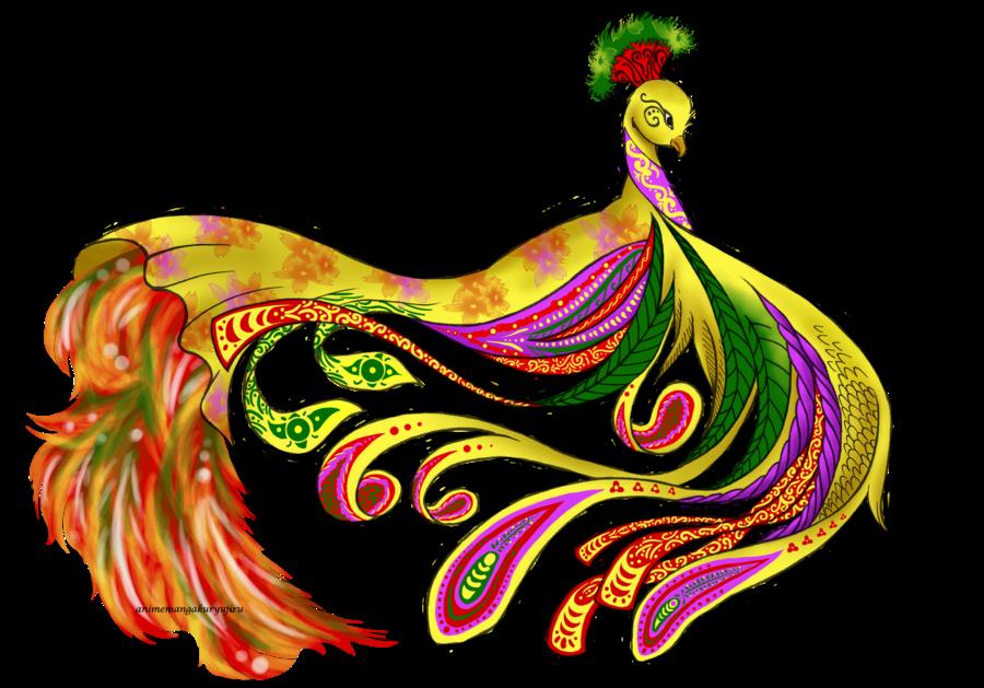 Tattoo by animemangakuryujiru on. Clipart designs peacock