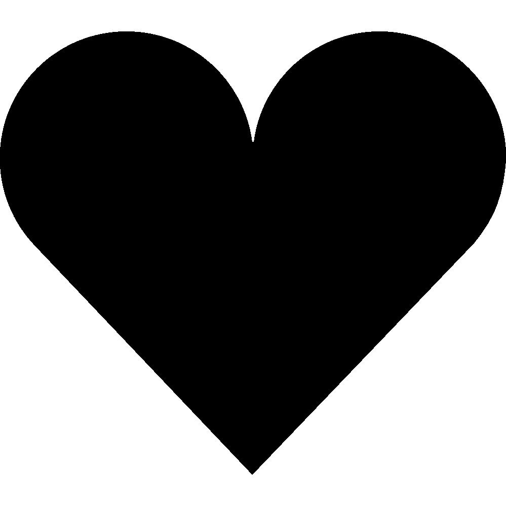 Heart shaped instagram pencil. Clipart designs shape