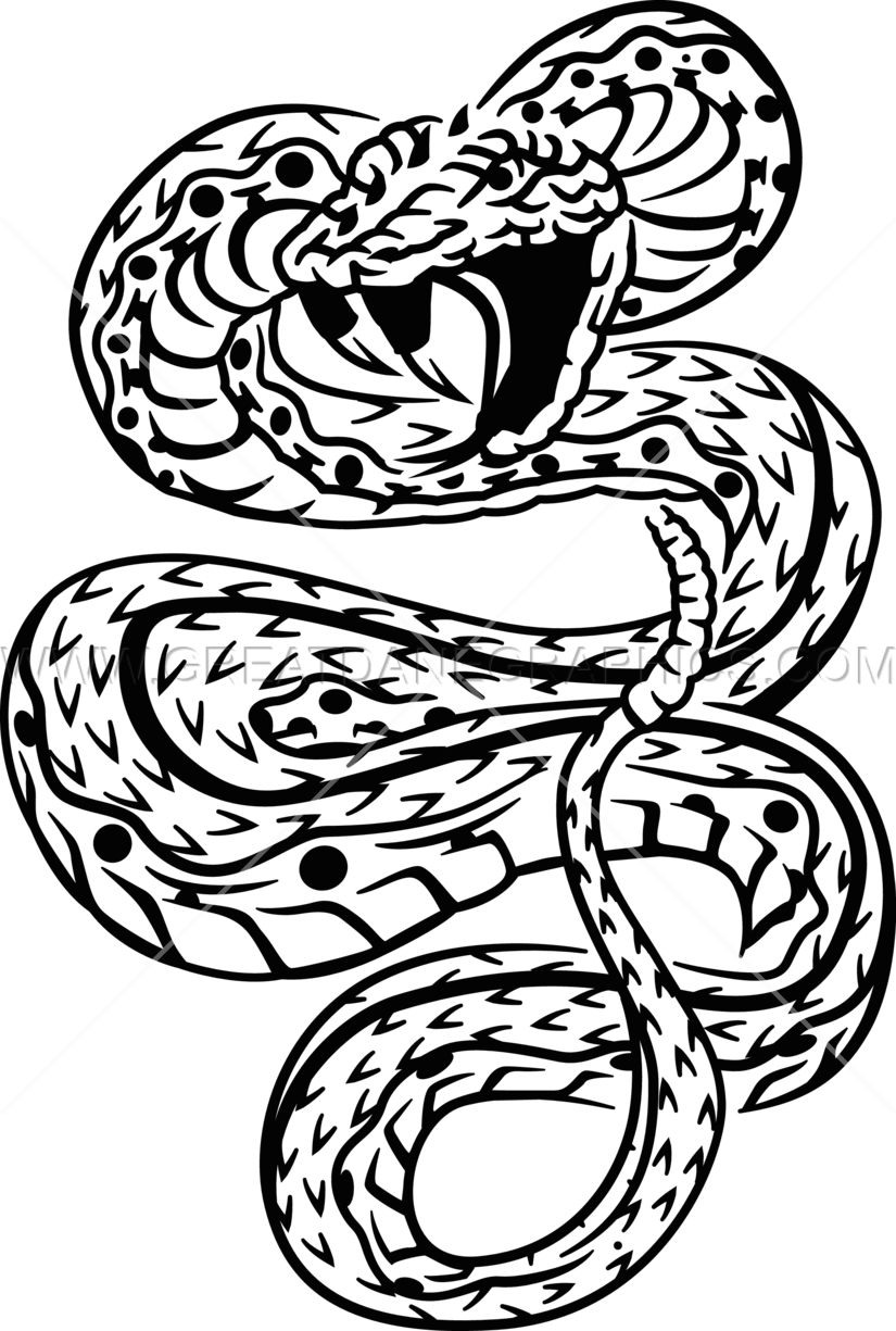 Rose clipart snake. Tattoo drawing at getdrawings