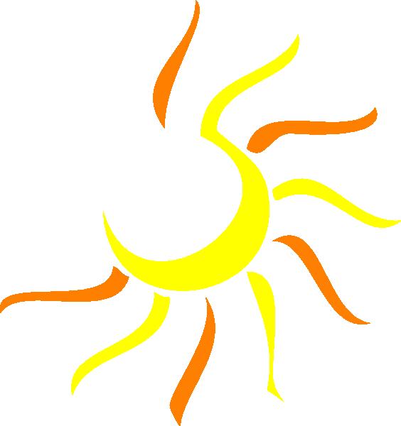 Half . Clipart designs sun