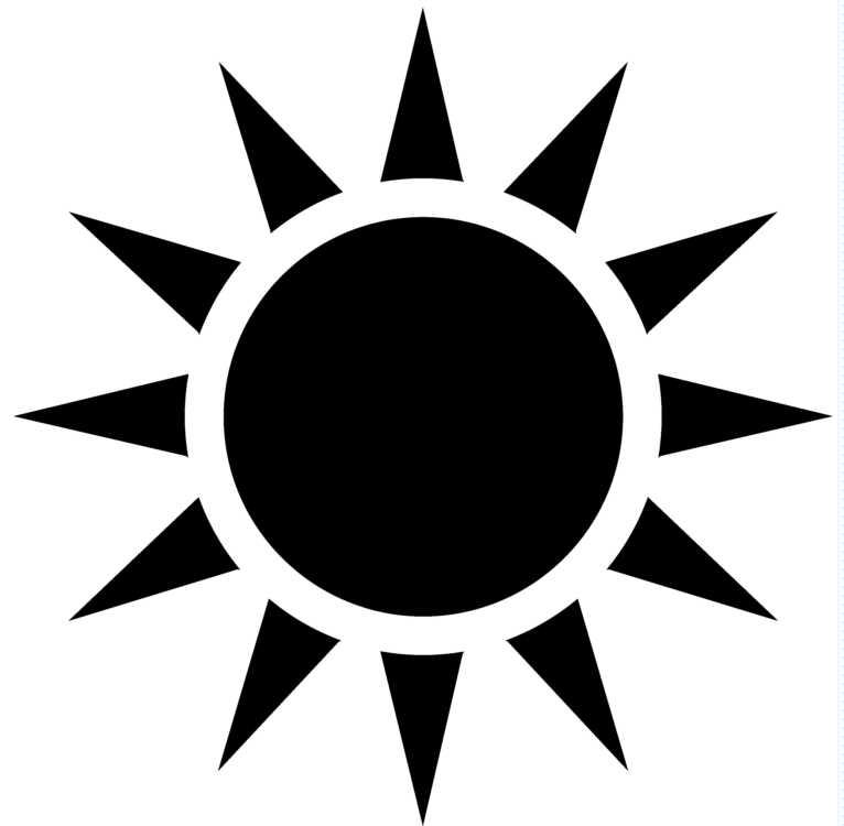 Clipart sunshine symbol. Free hot sun download