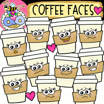Clipart designs teacher.  free coffee faces