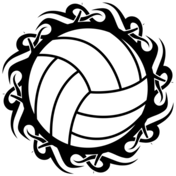 Designs clip art library. Clipart volleyball border