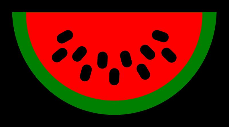 Free stock photo illustration. Clipart designs watermelon