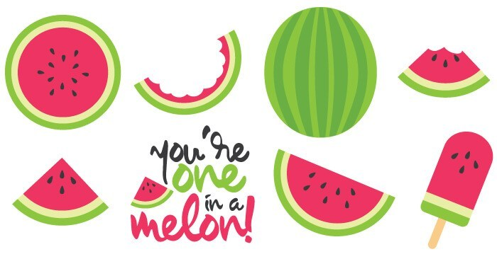 Watermelon clipart watermelon rind. Cut files clip art
