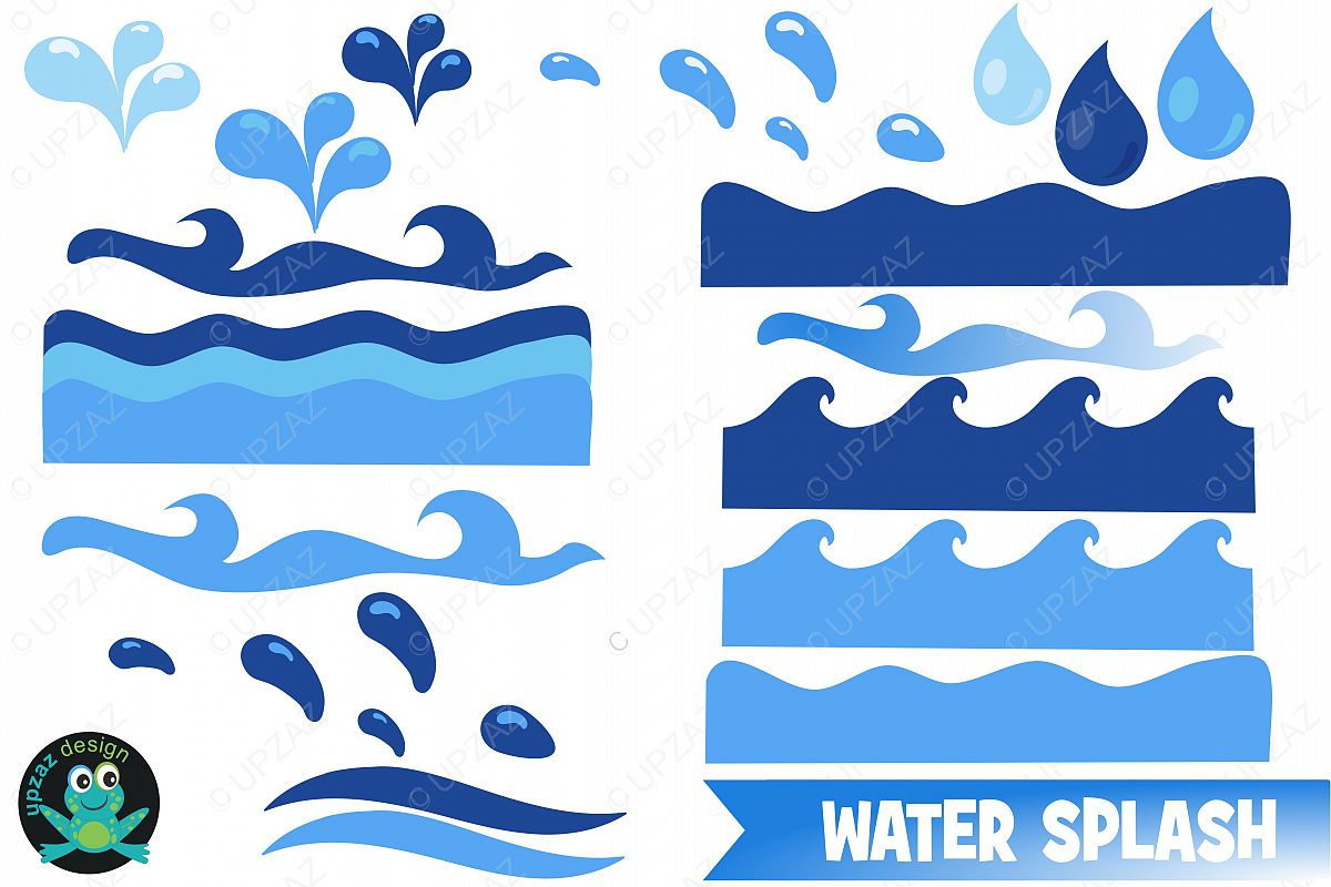 Water clipart wave. Waves
