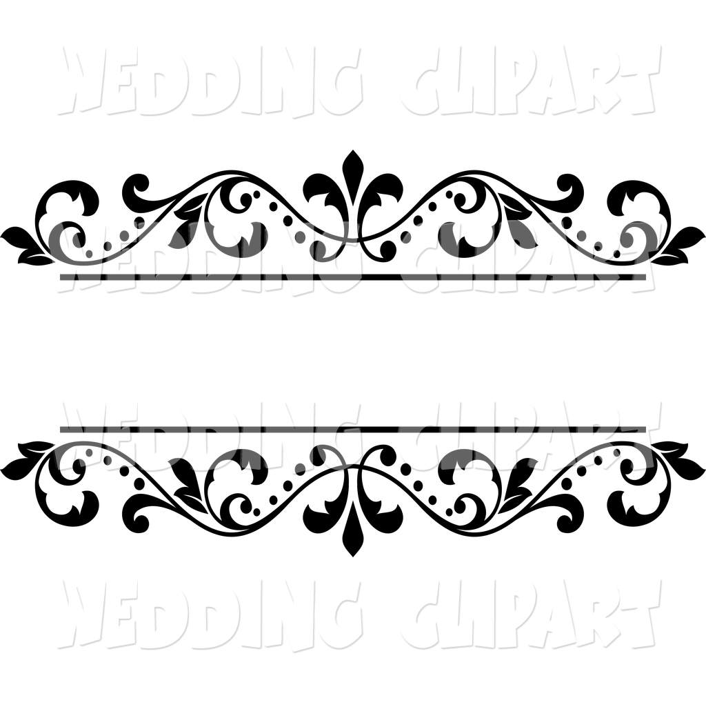 Designs borders free cliparts. Clipart wedding design