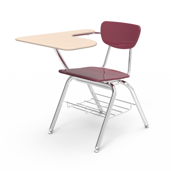 Student and school chairschool. Desk clipart attached chair