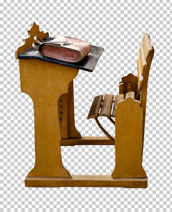 Desk clipart attached chair. School vintage and png