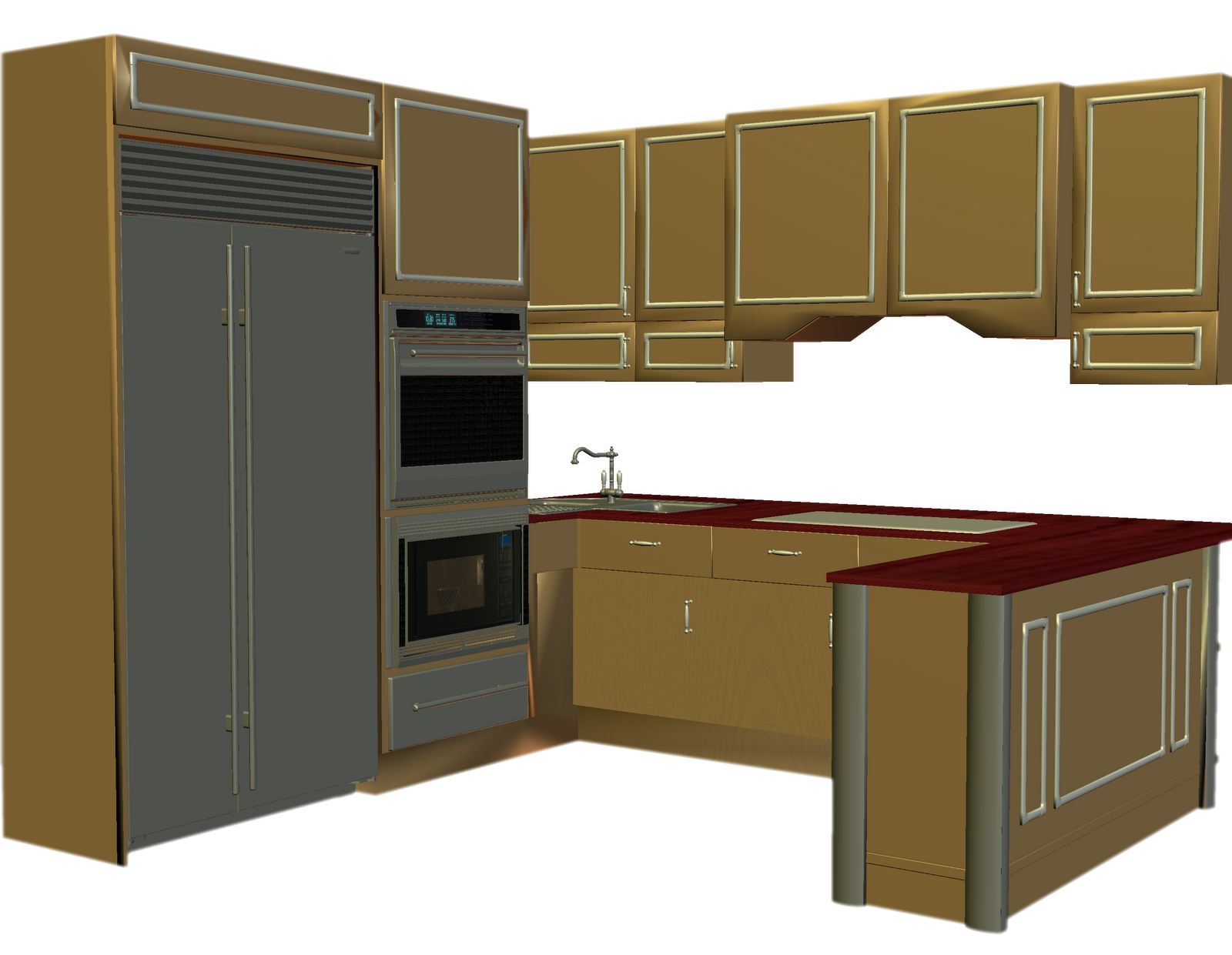 Panda free images counterclipart. Kitchen clipart kitchen counter