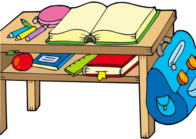 Desk clipart big school. Bench png download full