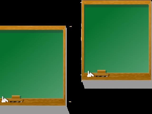 clipart desk blackboard