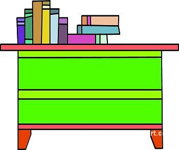 Free desk cliparts download. Organized clipart organized book