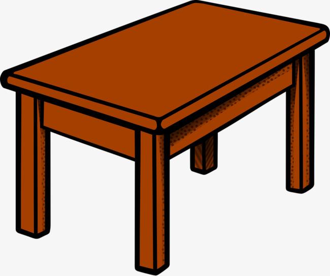Desk clipart brown desk. Wooden table wood png