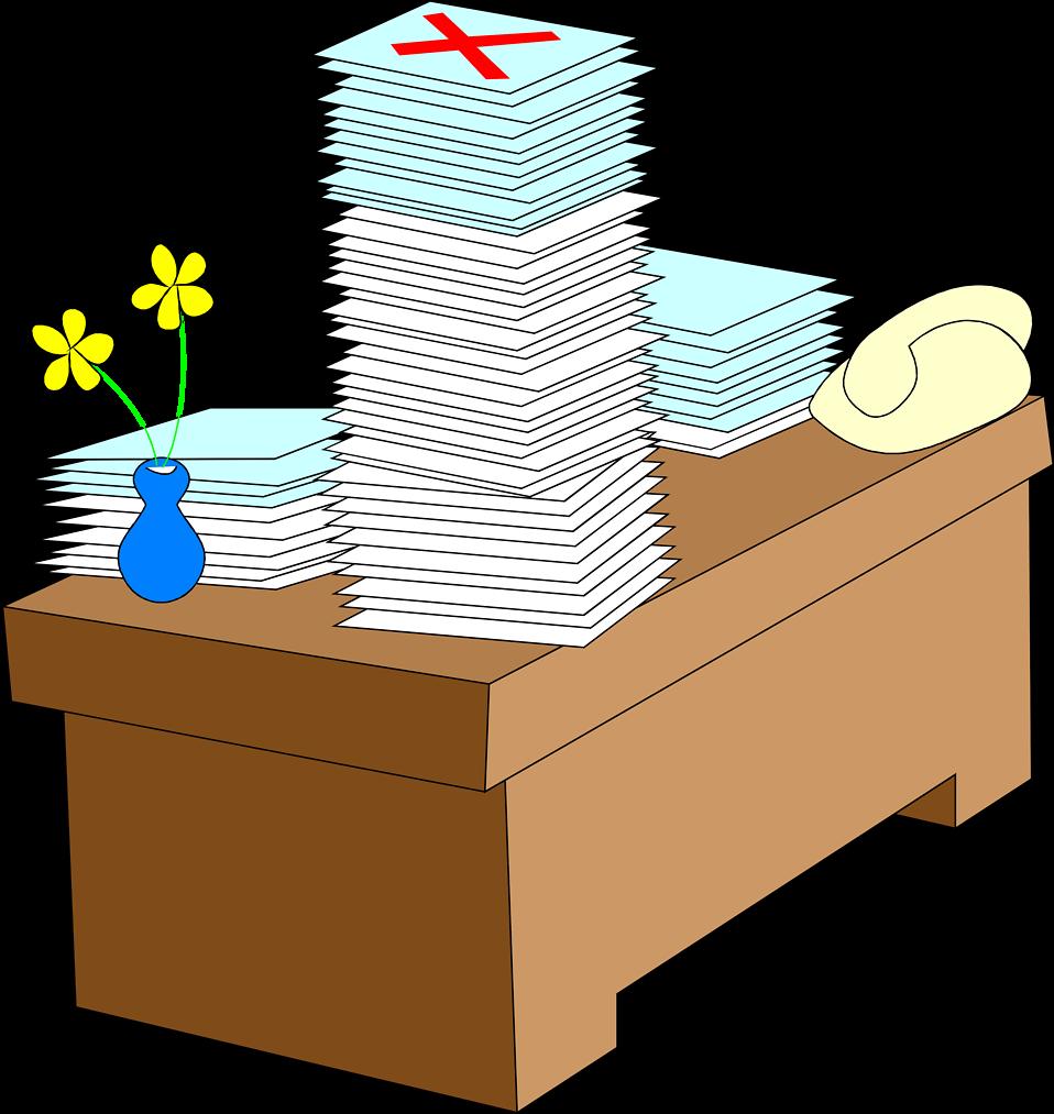 Meeting clipart desk. Desks free stock photo